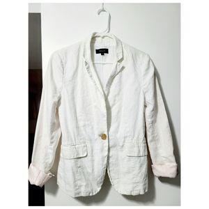 RW&CO Women's White blazer
